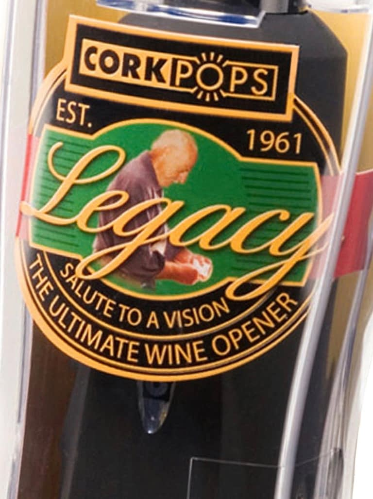 Legacy Wine Opener to the Rescue
