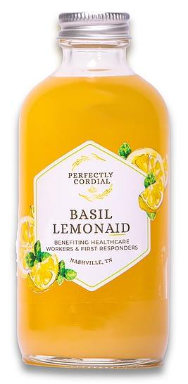 Perfectly Cordial's Basil Lemonaid