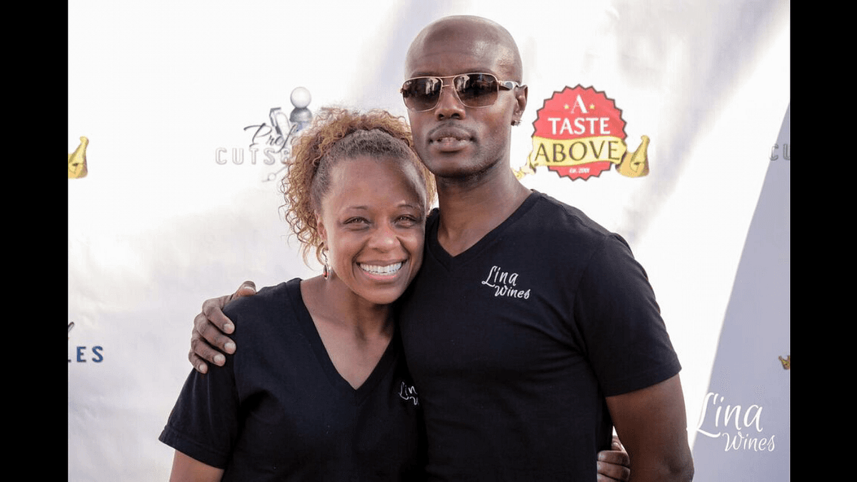 Line Wine founders Sharece and Michael Curry