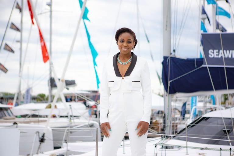 Shelia Ruffin, founder Soca Caribbean Yacht