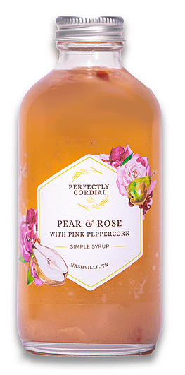 Perfect Cordial Pear & Rose with Pink Peppercorn