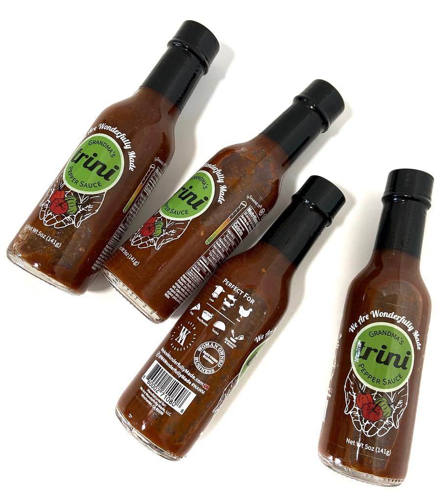 Grandmas Trini Pepper Sauce