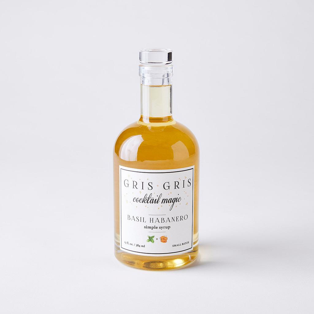 Gris Gris Basil Haberneo Simple Syrup