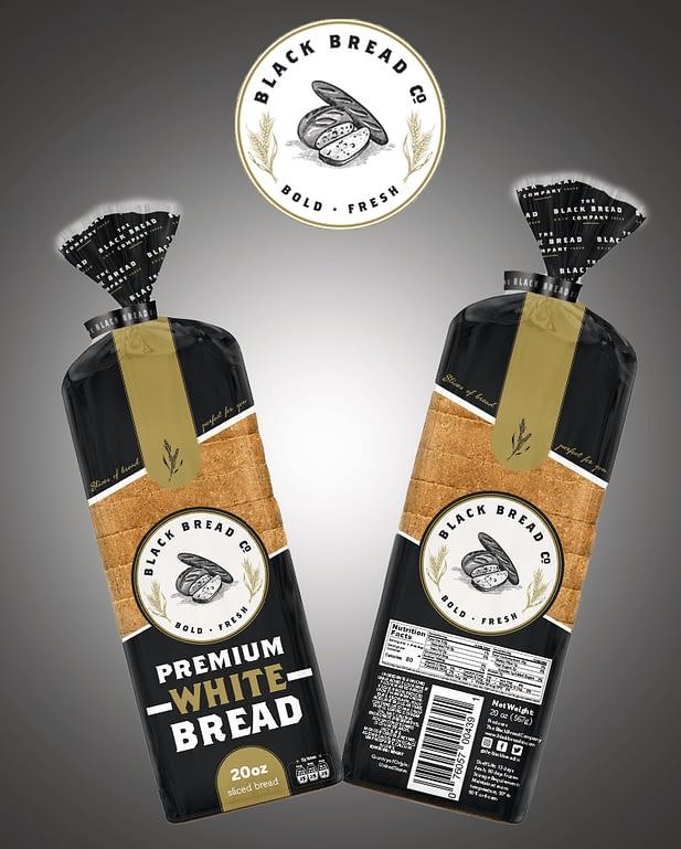 The Black Bread Co. premium white bread