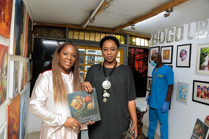 Tola Akerele and book signing