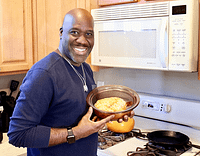 Singer Will Downing cooking