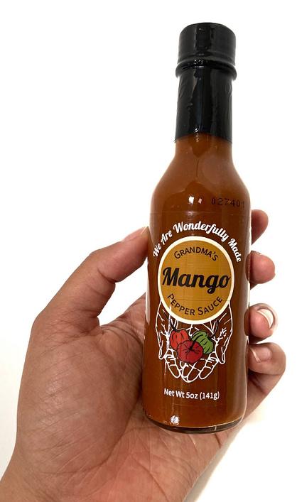 Grandmas Mango Pepper Sauce