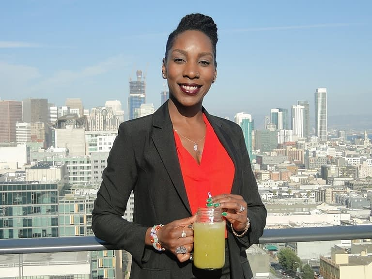 Carlina Williams, founder of Communion Juice