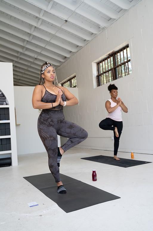 Nielaha Burnett of InnerG Juice & Yoga