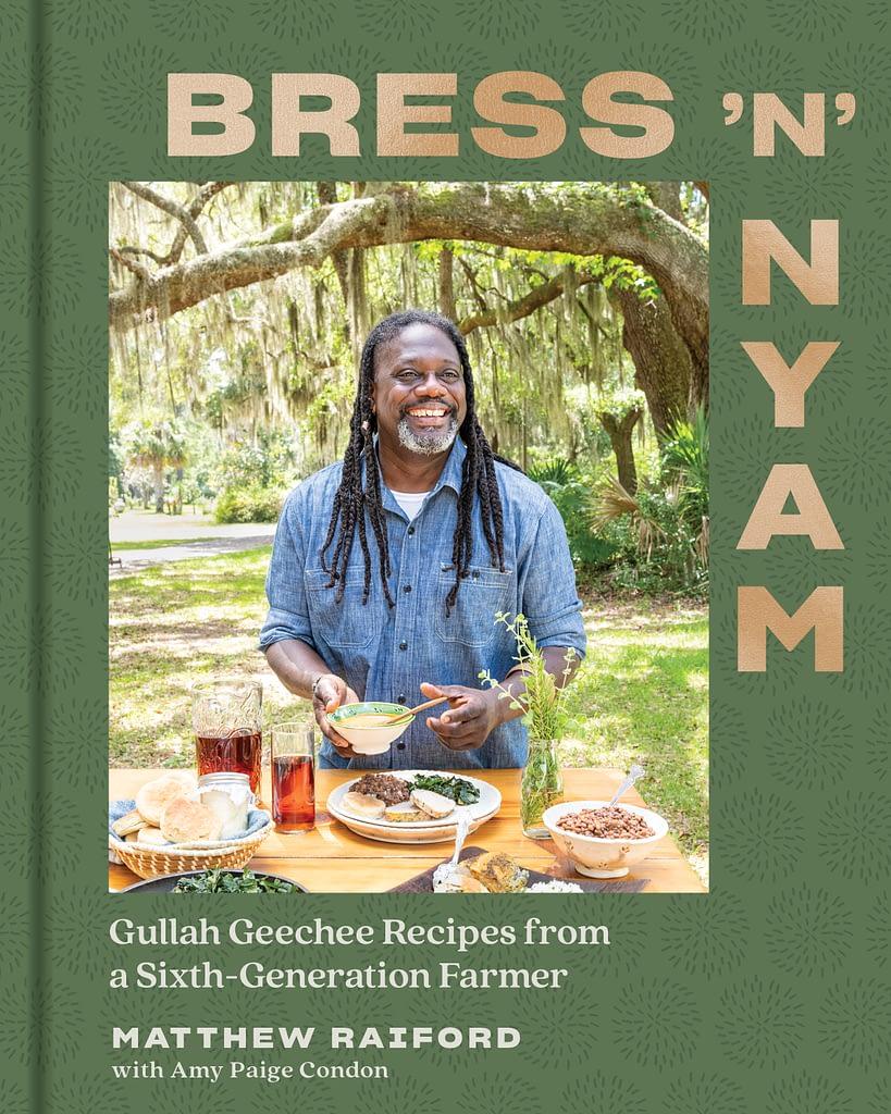 Book cover of Bress N Nyam by Matthew Raiford