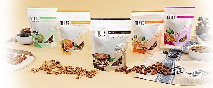 Mawa's GrainFreeNola brand varieties