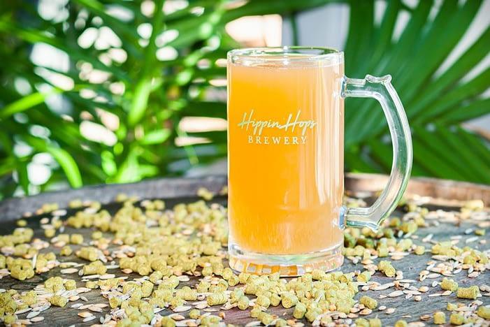 Hippin' Hops beer
