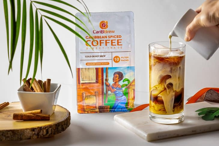 CariBBrew medium roast coffee