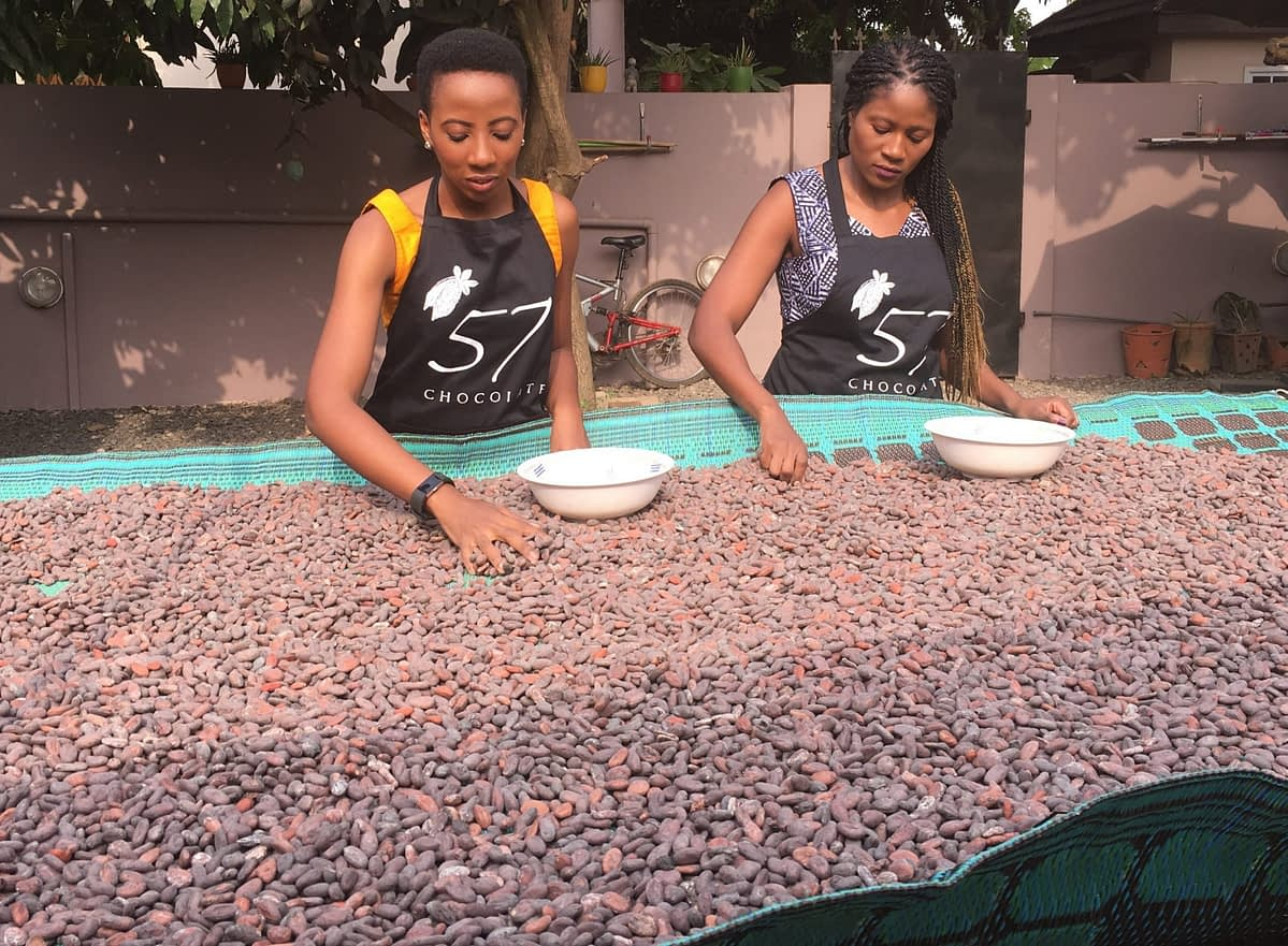 '57 Chocolate Brings Ghanaian Cocoa Bean-to-Bar Products to Market