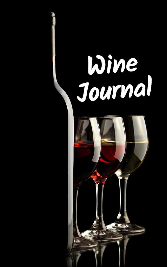 Wine Journal Black Cover