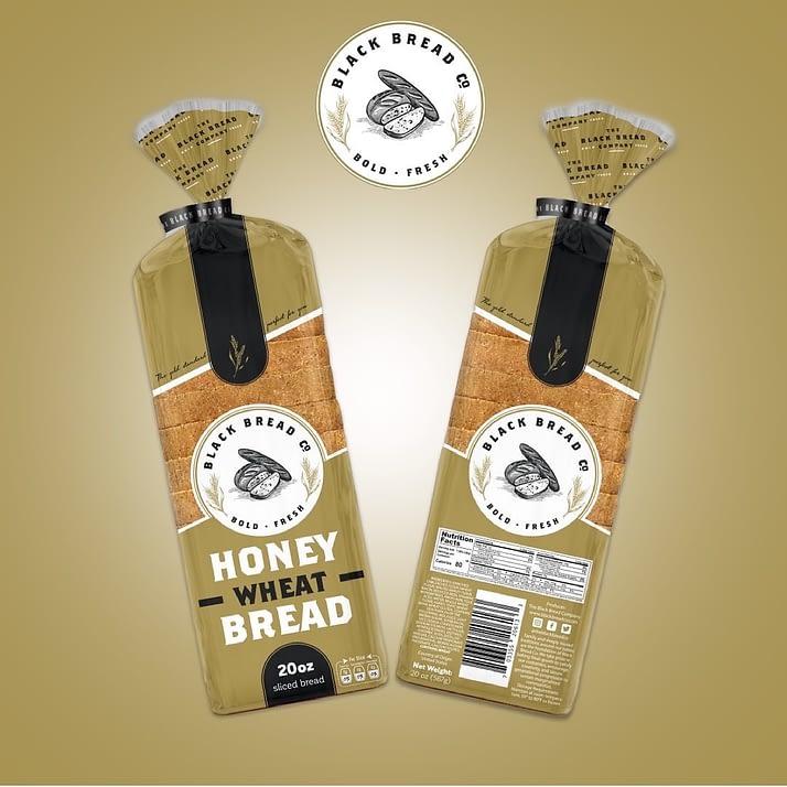 Bread Bread Co. honey wheat bread loaves